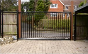 Picture of Automated (Automatic) Gates