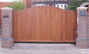 Wooden Automatic Gates