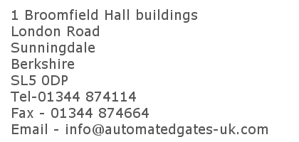 1 Broomfield Hall Buildings, London Road, Sunningdale, Ascot, Berkshire, SL5 0DP. 01344 874114